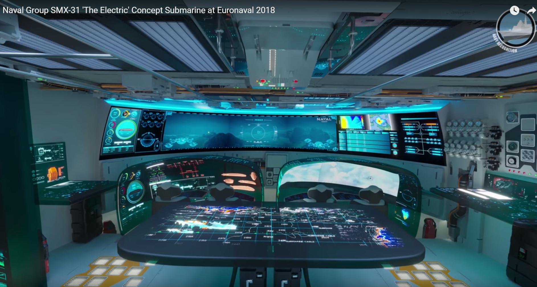 SMX 31E, un sottomarino visionario per i teatri operativi subacquei dei prossimi vent'anni