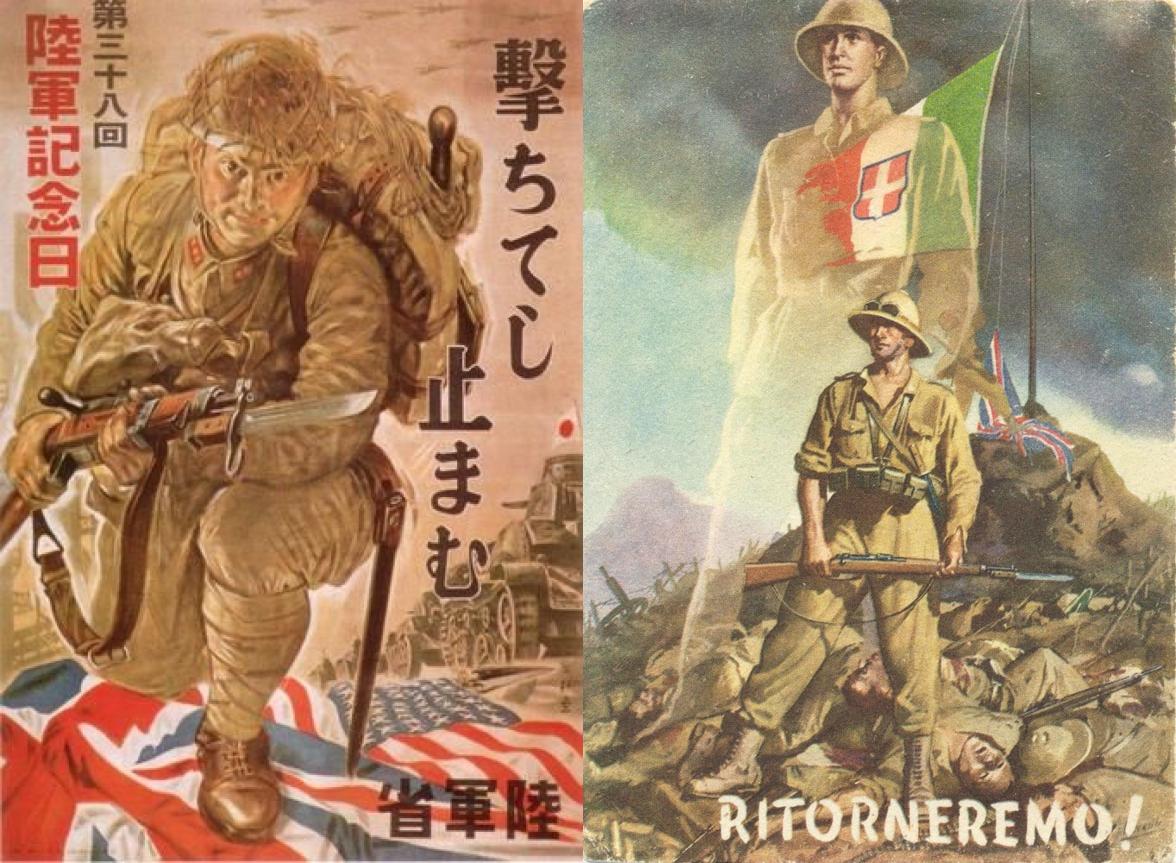 Giapponesi contro Italiani: uno scontro dimenticato