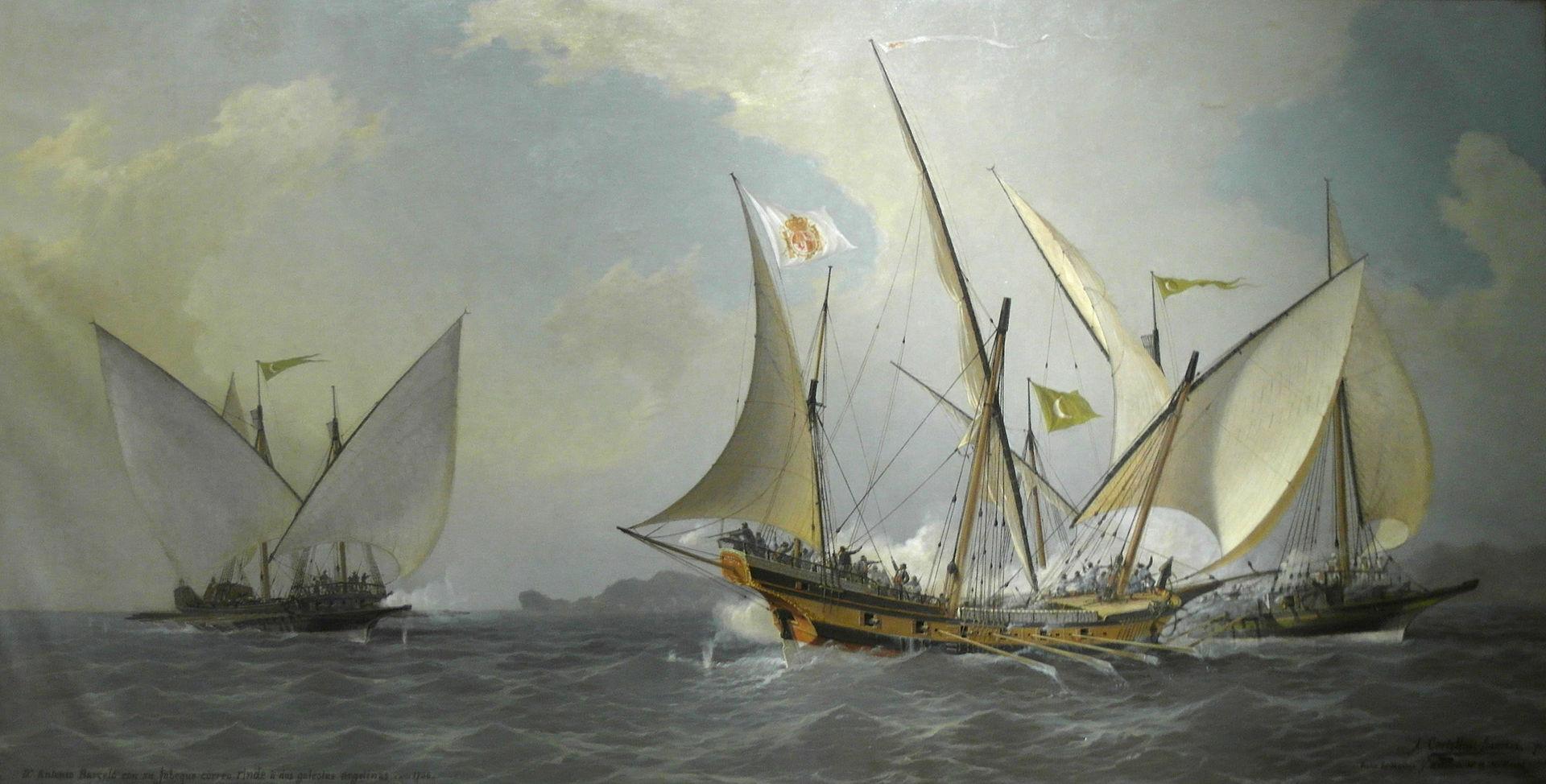 La guerra contro i corsari barbareschi ... sotto l'orizzonte militare - parte I