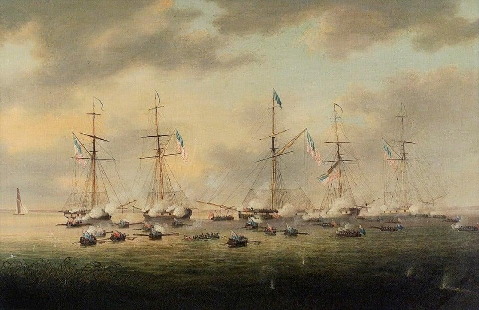 14 dicembre 1814: il combattimento del lago Borgne
